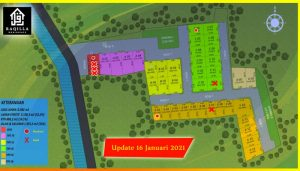 Update Site Plan Raqilla Residence Cilebut
